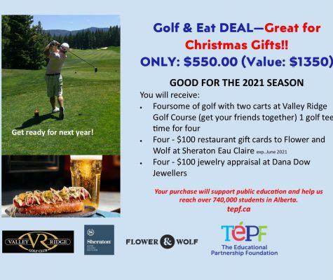 Market Golf & Restaurant Packages